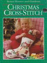 """Hard Covered Book - """"Christmas Cross-Stitch"""" - Better Homes & Garden-Gen... - $18.00"""