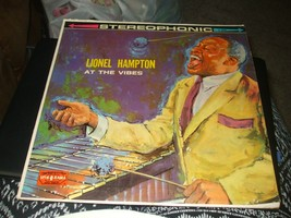 At the Vibes by Lionel Hampton Vinyl Record LP - Spin-O-Rama S307 - $11.87