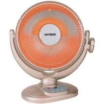 Optimus 14 in. Oscillating Dish Heater with Remote Control - $71.74+