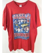 Gildan Boston Red Sox 2007 World Series Championship TShirt Red XL - $9.89
