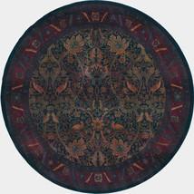 6' Round William Morris Arts & Crafts Mission Style Area Rug - $299.00