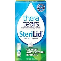 TheraTears Sterilid Eyelid Cleanser, Lid Scrub For Eyes And Eyelashes, 1... - $26.38