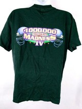 100,000 Football Madness IV Men's T-Shirt XL Graphic Short Sleeve Black - $0.98