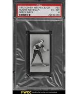 1912 Cohen Weenen Boxing #23 Hughie Mehegan GREEN BACK  PSA 6 EX-MT - $147.51