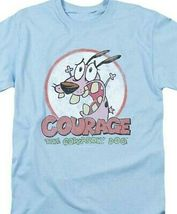 Courage the Cowardly Dog T-shirt 90's cartoon graphic 100% cotton tee CN273 image 3