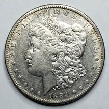 1884S MORGAN SILVER $1 DOLLAR Coin Lot# A 163