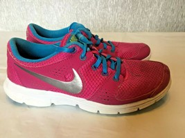 Nike Flex Experience RN 525754 600 Womens Running Shoes Pink/Blue/White ... - $14.85