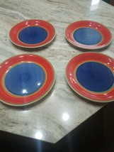 Plates Colorful set of 11 - $99.84