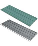 "vidaXL 12x Roof Panel Galvanized Steel 50.8"" Garage Profile Sheet Green/... - $141.99"