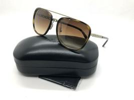 New Coach sunglasses HC7089 931874 58 Dark Tortoise Brown Gradient Chain... - $87.27