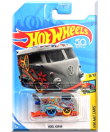 Hot Wheels - Kool Kombi: HW Art Cars #8/10 - #353/365 (2018) *Gray Edition* - $4.00