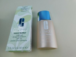 Clinique Even Better Makeup 12 Ginger M/D-N 1 Oz Full Size New With Box - $19.69