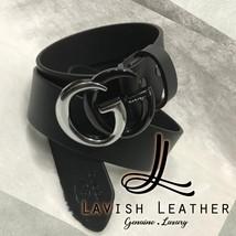 Gucci Gold. Black,silver Belt For Men & Women's Unisex Leather Belt New ... - $80.00