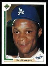 1991 Upper Deck Baseball #245 Darryl Strawberry - $1.28