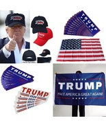 Donald Trump Election 2020 Baseball Cap Keep America Great USA Flag Car ... - $3.99+