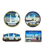 Washington DC Set of 4 Magnets - $19.99