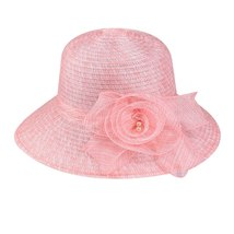 Womail Hat  1PC  Solid Cap Fashion Floppy Foldable Ladies Women Solid Straw Cap  image 5