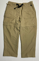 The North Face Men Size XL (38×30) Khaki Pants Outdoor Belted - $23.75
