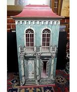 Vintage Eric Lansdown San Francisco Hand Made Trompe l'oeil Doll House 1988 - $1,002.38