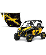 AMR Racing Graphic Decal Door Kit UTV INC Canam Maverick Can Am Parts - BX - $168.27