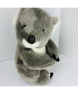"Bush Gardens Plush Large Koala Bear 16"" Stuffed Animal Toy Gray White  - $29.69"