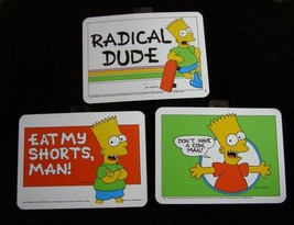 The Simpsons Bart Simpson Decorative Wall Signs 1990 H&L Entertainment. - $19.99