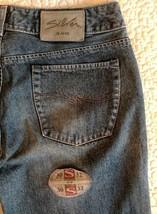 SILVER JEANS DV8 Women Flare Jeans Size 30 x 32 100% Cotton Western Glov... - $30.63