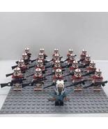 21pcs Star Wars Ahsoka Tano Shock Trooper Coruscant Guard Custom Minifig... - $29.99