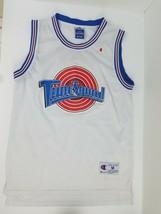 Champion Space Jam Tune Squad Bugs #1 White Basketball Jersey Medium PLE... - $23.72