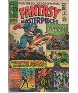 Fantasy Masterpieces #3 ORIGINAL Vintage 1966 Marvel Comics Captain America - $49.49