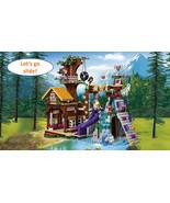 739 PCS Girl Friends Adventure Camp Tree House Building Blocks Girls Toys - $55.00