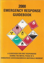 2000 Emergency Response Guidebook - $6.00