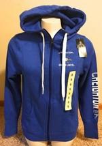 Champion Elite Women's Small Creighton Bluejays Zipper Hoodie Sweatshirt - $34.64