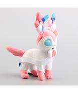 "9"" Eevee Standing Sylveon Plush Doll Toys Stuffed Animals Kids - $295,17 MXN"