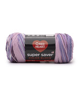 Red Heart Super Saver Ombre Yarn, Iris Bouquet, 10 Oz, 482 Yards - $15.95