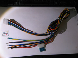 Cable Harness Assembly 10 Pin Wire Color Coded 45 Inch Inline Fuse 15A NOS Qty 1 - $12.34