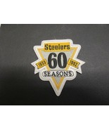 Pittsburgh Steelers 60 year patch 1933-1992 - $9.49