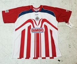 Official Reebok Chivas del Guadalajara Home Jersey 2006 Season - $79.19