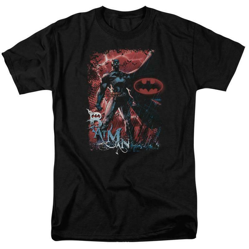 Batman t-shirt DC Comic book Superhero graphic cotton tee BM1794