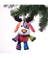 Britto Plush Reindog Hanging Ornament - $14.58