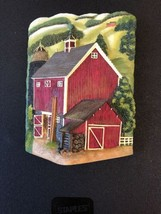 3 D Barn Scene For Display Or Casket - $20.00