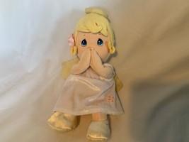 """Precious Moments Praying Talking Child Angel Plush 10"""" Soft Plush Stuffed - $24.56"""