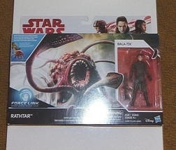 Star Wars Force Link New Factory Sealed Rathtar with Bala-Tik Action Fig... - $17.96