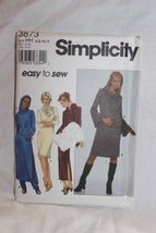 Simplicity East to Sew 8873 Size Hh 6,8,10,12 Sewing Pattern 1999 Style Patterns - $15.63