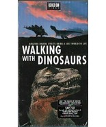 Walking with Dinosaurs VHS, 2001, 2-Tape Set BBC Video Sealed  - $24.99
