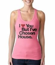 I Love You But I'Ve Chosen Maison Chaud Rose Débardeur