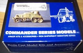 1/35 RESIN & METAL COMMANDER SERIES WW2 RUSSIAN ARMORED CAR - $25.00