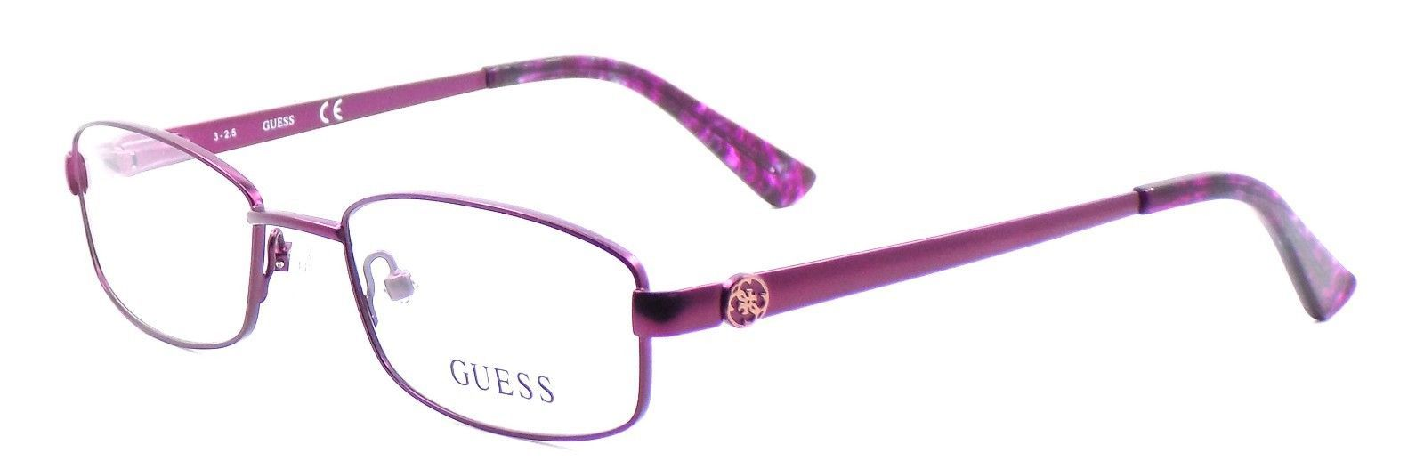 Primary image for GUESS GU2524 082 Women's Eyeglasses Frames 49-18-135 Purple + CASE