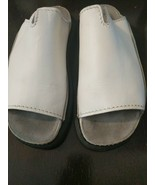 DR DOC MARTENS White Leather AirWair Sandals Shoes Womens US 6 - $39.59