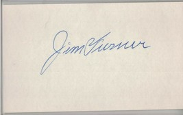 JIM TURNER Auto/Autograph 3x5 Index Card Reds/Yankees (1903-1998) - $8.96